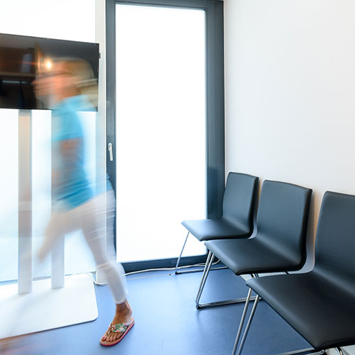 Zentrum für Integrative Medizin Aarau - Britta Massmann - Wartebereich der Praxis
